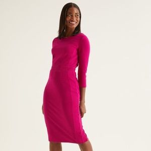 Boden Leah Ottoman Dress